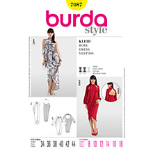 Buy Simplicity Burda Asymmetric Dresses Sewing Pattern, B7087 Online at johnlewis.com