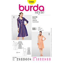 Buy Simplicity Burda 50s Style Dresses Sewing Pattern, B7080 Online at johnlewis.com
