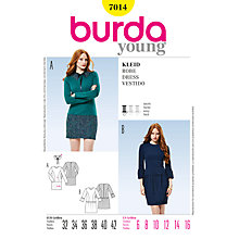 Buy Simplicity Burda Dresses Sewing Pattern, B7014 Online at johnlewis.com