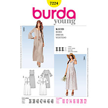 Buy Simplicity Burda Dresses Dress Sewing Pattern, 7224 Online at johnlewis.com
