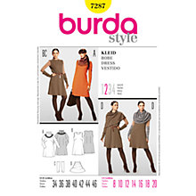 Buy Simplicity Burda Dresses Dress Sewing Pattern, 7287 Online at johnlewis.com