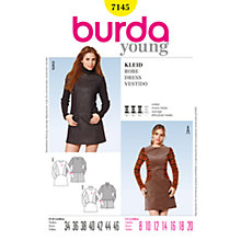 Buy Simplicity Burda Mini Dresses Sewing Pattern, B7145 Online at johnlewis.com