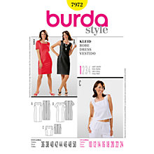 Buy Simplicity Burda Shift Dresses & Top Sewing Patterns, B7972 Online at johnlewis.com