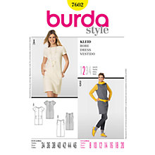 Buy Simplicity Burda Wool Shift Dresses Sewing Patterns, B7602 Online at johnlewis.com