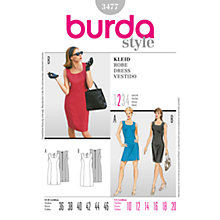 Buy Simplicity Burda Sleeveless Dresses Sewing Patterns, B3477 Online at johnlewis.com
