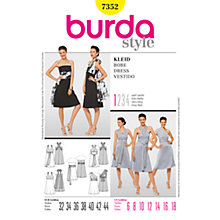 Buy Simplicity Burda Dresses Dress Sewing Pattern, 7352 Online at johnlewis.com