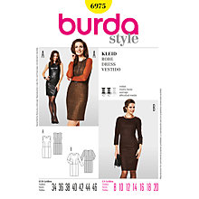 Buy Simplicity Burda Dresses Sewing Pattern, B6975 Online at johnlewis.com