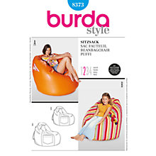 Buy Simplicity Burda Children's Beanbag Chair Sewing Pattern, 8373 Online at johnlewis.com