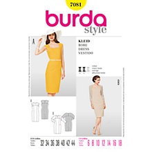 Buy Simplicity Burda Sheath Dresses Sewing Pattern, B7081 Online at johnlewis.com