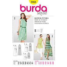 Buy Simplicity Burda Tunic & Dress Sewing Pattern, B7083 Online at johnlewis.com