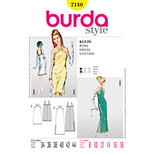 Buy Simplicity Burda Slim-Line Dresses Sewing Pattern, B7110 Online at johnlewis.com