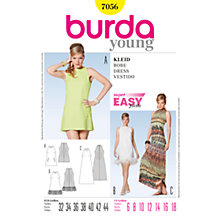 Buy Burda Women's Retro Dress Sewing Pattern, 7056 Online at johnlewis.com