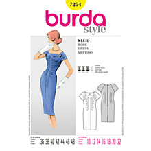 Buy Simplicity Burda Dresses Dress Sewing Pattern, 7254 Online at johnlewis.com