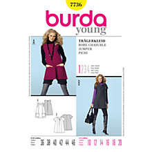 Buy Simplicity Burda Jumper Dresses Sewing Pattern, B7736 Online at johnlewis.com