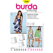 Buy Simplicity Burda Dress & Tunic Sewing Patterns, B7390 Online at johnlewis.com