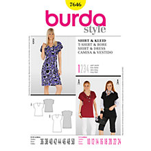 Buy Simplicity Burda Top & Dress Sewing Pattern, B7646 Online at johnlewis.com