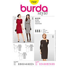 Buy Simplicity Burda Shift Dresses Sewing Pattern, B7137 Online at johnlewis.com