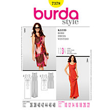 Buy Simplicity Burda Dresses Dress Sewing Pattern, 7378 Online at johnlewis.com