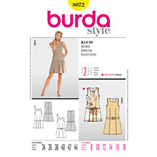 Buy Simplicity Burda Dress Sewing Pattern, B8072 Online at johnlewis.com