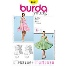 Buy Simplicity Burda Flared Dresses Sewing Patterns, B7556 Online at johnlewis.com