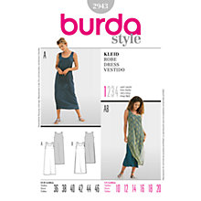 Buy Simplicity Burda Maxi Dresses Sewing Patterns, B2943 Online at johnlewis.com