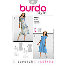 Buy Simplicity Burda Dresses Dress Sewing Pattern, 8351 Online at johnlewis.com