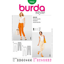 Buy Simplicity Burda Skirt & Trousers Sewing Pattern, 7062 Online at johnlewis.com