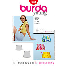 Buy Simplicity Burda Mini Skirts Sewing Pattern, B8237 Online at johnlewis.com
