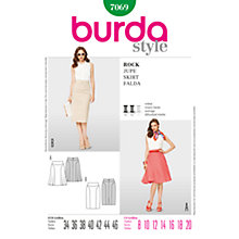 Buy Simplicity Burda Skirts Sewing Pattern, B7069 Online at johnlewis.com
