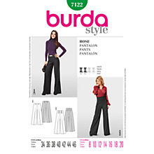 Buy Simplicity Burda Skirt & Trousers Sewing Pattern, 7122 Online at johnlewis.com