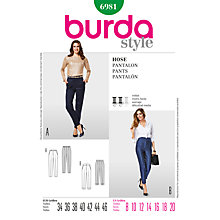 Buy Simplicity Burda Women's Trousers, B6981 Online at johnlewis.com