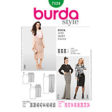 Buy Simplicity Burda Occasion Skirts Sewing Pattern, 7124 Online at johnlewis.com
