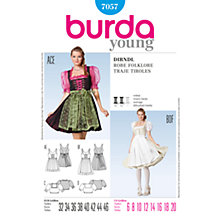 Buy Simplicity Burda Costume Dresses Sewing Pattern, B7057 Online at johnlewis.com