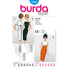 Buy Simplicity Burda Dresses Sewing Pattern, B7043 Online at johnlewis.com