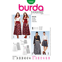 Buy Simplicity Burda Skirt & Trousers Sewing Pattern, 7143 Online at johnlewis.com