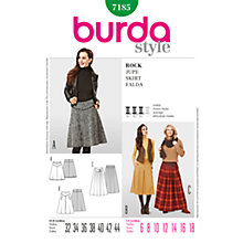Buy Simplicity Burda Skirt & Trousers Sewing Pattern, 7185 Online at johnlewis.com