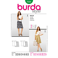 Buy Simplicity Burda Skirt & Trousers Sewing Pattern, 7531 Online at johnlewis.com