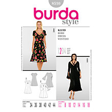 Buy Simplicity Burda Dresses Dress Sewing Pattern, 8510 Online at johnlewis.com