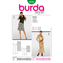 Buy Simplicity Burda Women's Skirt Sewing Pattern,  B8280 Online at johnlewis.com