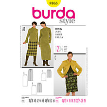 Buy Simplicity Burda Skirts Sewing Pattern, B8765 Online at johnlewis.com