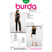 Buy Simplicity Burda Smart Trousers Sewing Pattern, B8341 Online at johnlewis.com