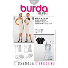 Buy Simplicity Burda Dresses Dress and Jacket Sewing Pattern, 8061 Online at johnlewis.com