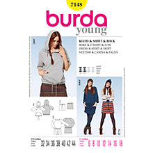 Buy Simplicity Burda Casual Outfit Sewing Pattern, B7148 Online at johnlewis.com
