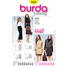 Buy Simplicity Burda Skirts Sewing Pattern, B7015 Online at johnlewis.com