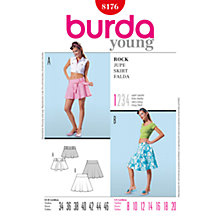 Buy Simplicity Burda Skirt & Trousers Skirt Sewing Pattern, 8176 Online at johnlewis.com