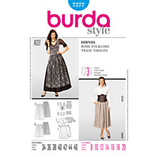 Buy Simplicity Burda Folk Outfits Sewing Pattern, B7277 Online at johnlewis.com