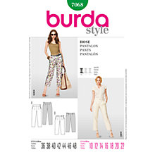 Buy Simplicity Burda Skirt & Trousers Sewing Pattern, 7068 Online at johnlewis.com