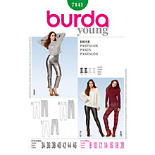 Buy Simplicity Burda Skirt & Trousers Sewing Pattern, 7141 Online at johnlewis.com