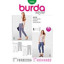 Buy Simplicity Burda Skirt & Trousers Sewing Pattern, 7058 Online at johnlewis.com