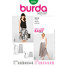 Buy Simplicity Burda Skirts Sewing Pattern, B7070 Online at johnlewis.com